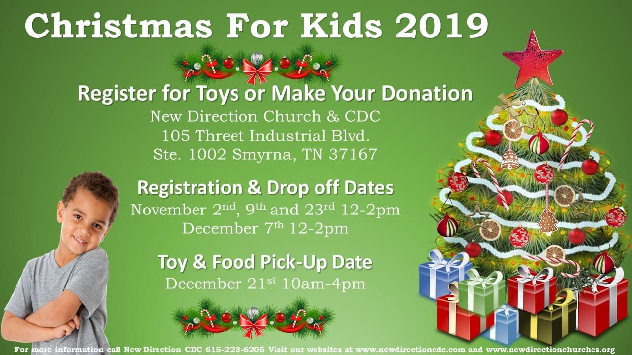 Christmas For Kids Event