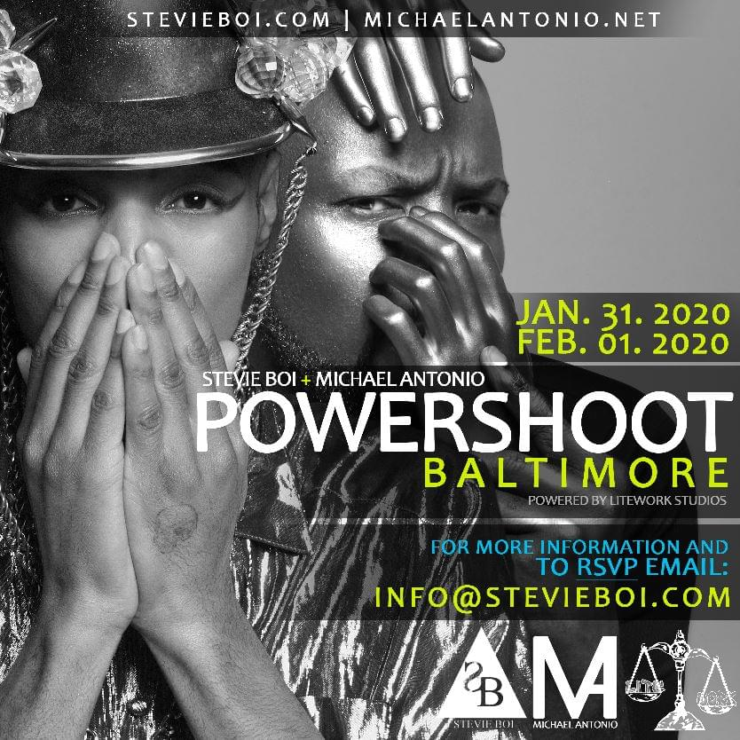 Stevie Boi & Michael Antonio are looking for models to join their 2020 Annual POWERSHOOT
