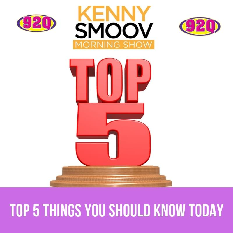 Top 5 Things You Should Know Today (01-21-19)
