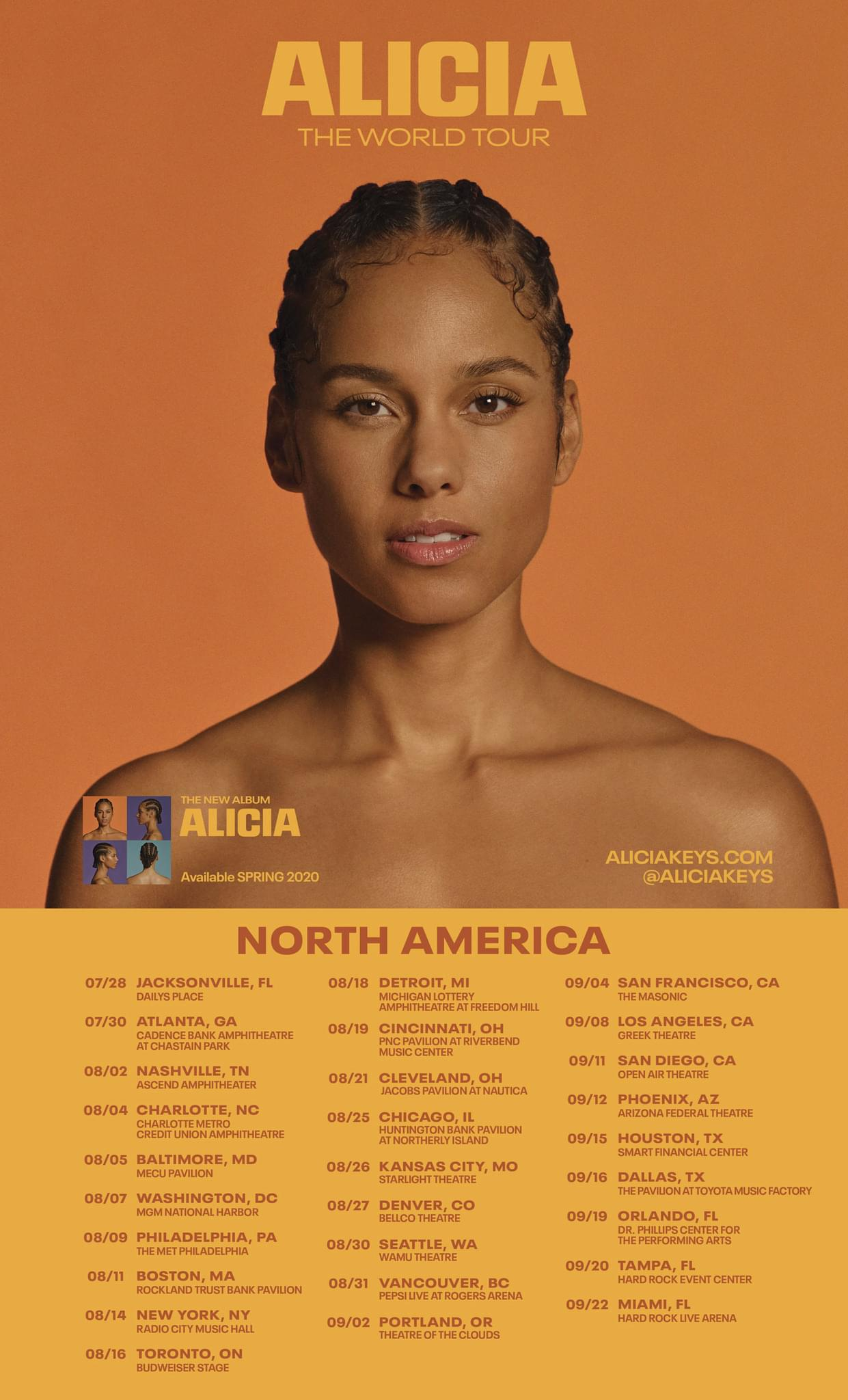 Alicia The World Tour