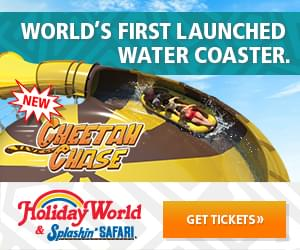 Win Tickets to Holiday World & Splashin' Safari with #KSMS!