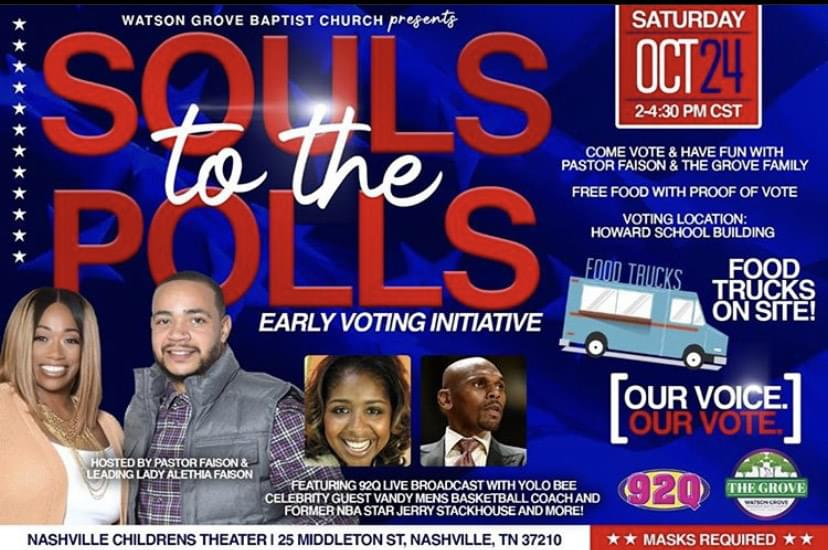 Yolo Bee at Souls to the Polls