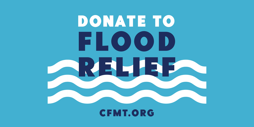 Get Help or Donate To Flood Relief Details Here