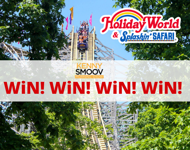 Holiday World in the Mornings on 92Q!