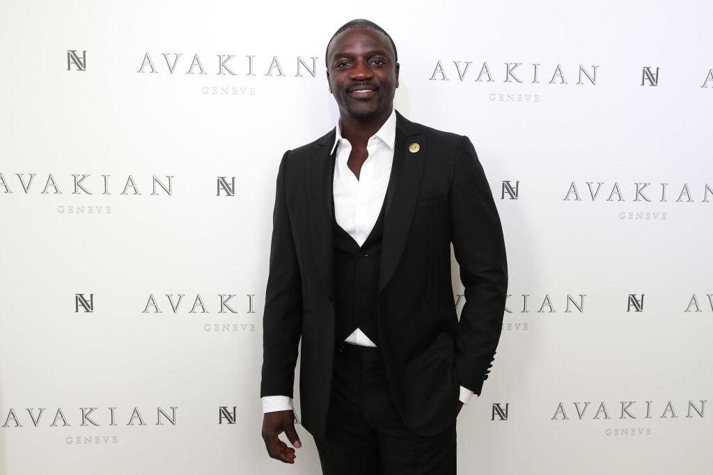 Liya Kebede & Akon Visit The Avakian Suite
