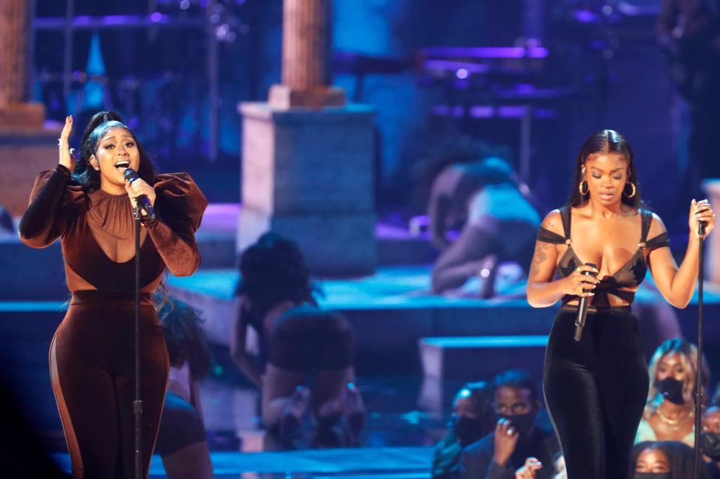 Jazmine Sullivan Thanks All Black Women In Her 'Album Of The Year' Acceptance Speech