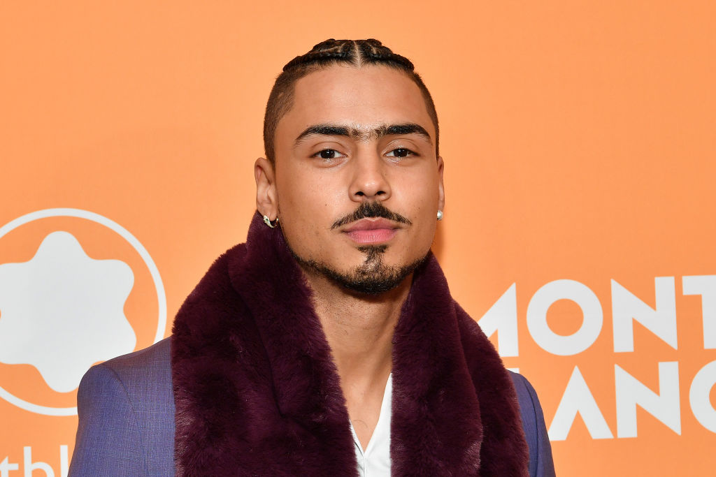 """Quincy Brown (son of Al B. Sure and Kim Porter) discusses modeling for Beyoncé's """"FLEX PARK"""" collection and its inclusivity"""