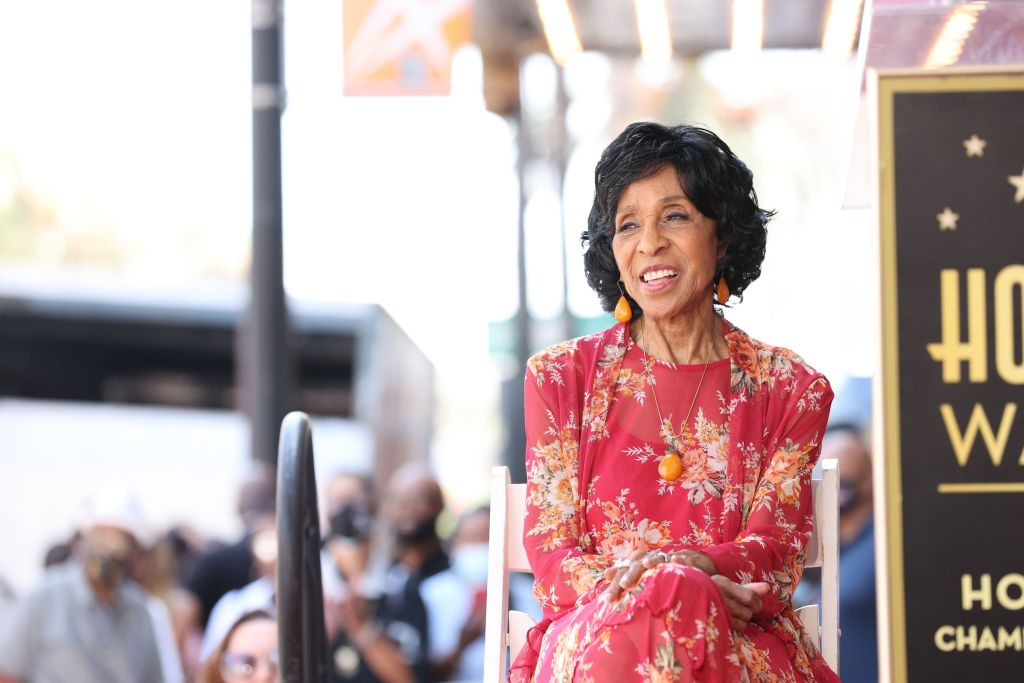 The Legendary and Incomparable Marla Gibbs Receives a Hollywood Walk of Fame Star