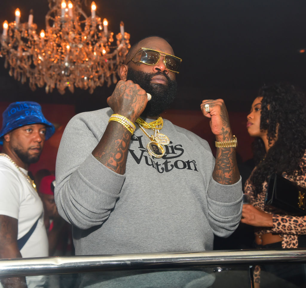 Rick Ross reveals he's working on getting his driver's license