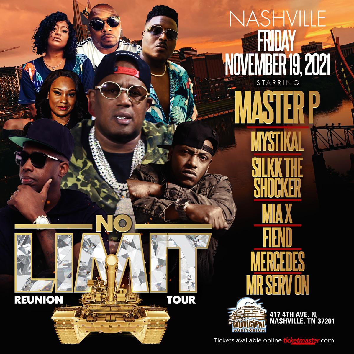 The No Limit Tour – Nashville