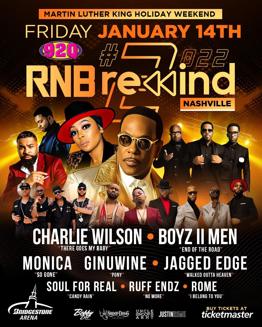 "MLK Weekend ""RNB Rewind"""
