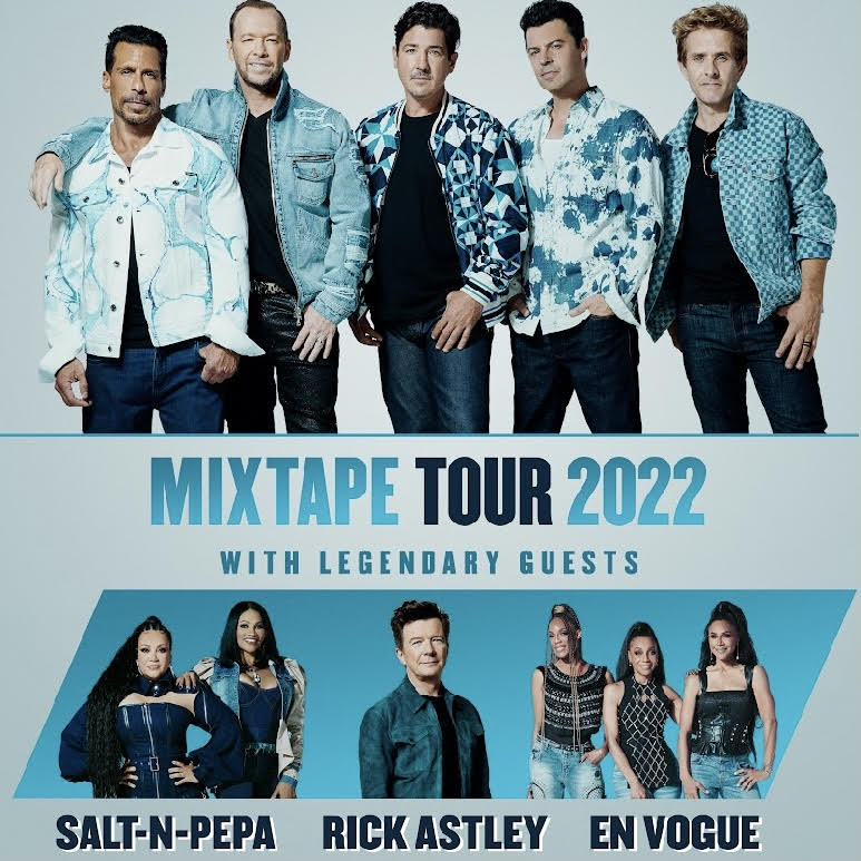 The Mix Tape Tour w/ New Kids On The Block,Salt-N-Pepa, En Vogue and More!