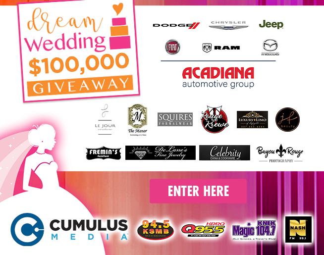 $100,000 Dream Wedding Winning List (CONTEST)