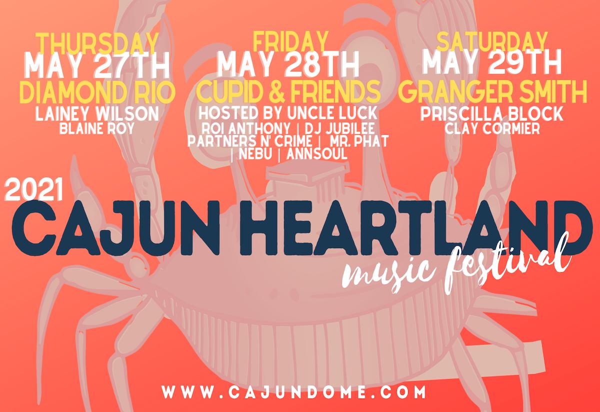 2021 Cajun Heartland State Fair Music Festival