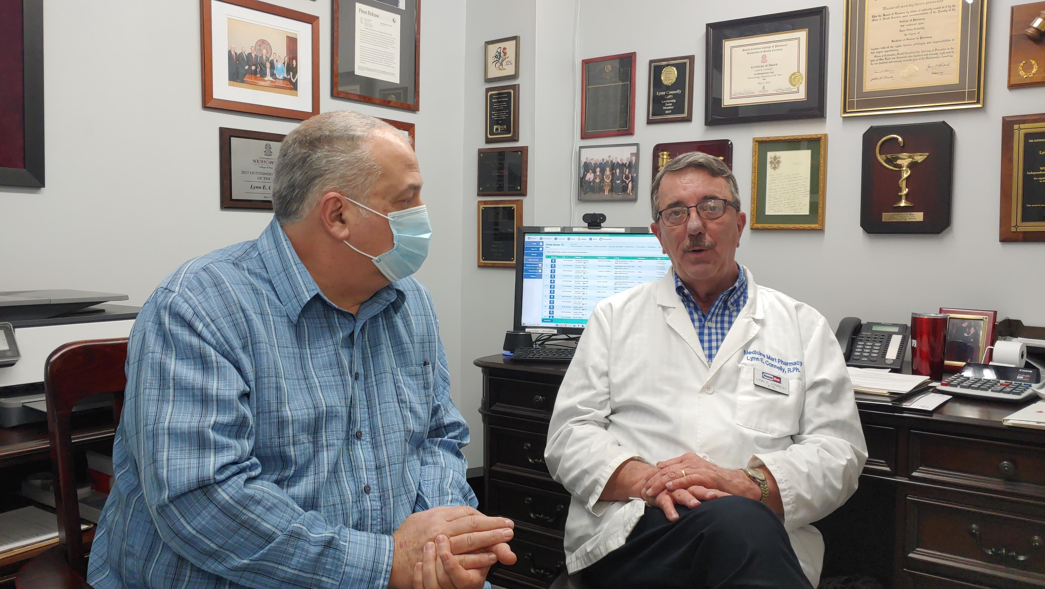 Steve McKay interviewed Lynn Connelly with Medicine Mart