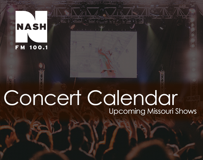 NASH FM 100.1 Concert Calendar