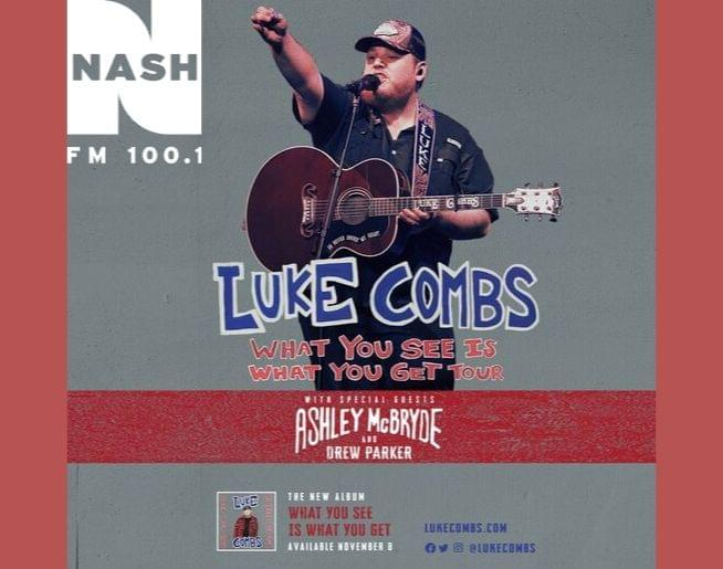 NASH FM Welcomes Luke Combs!