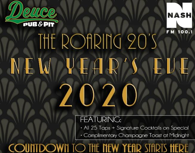 A Roaring 20's NYE Party at The Deuce!