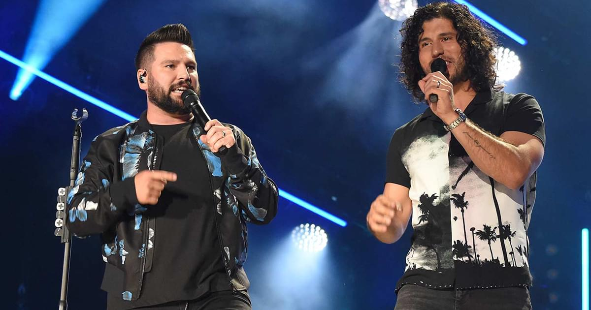 Dan + Shay Win ACM Award for Duo of the Year