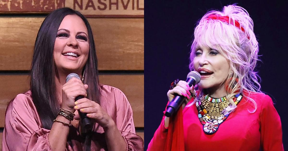 "Dolly Parton, Sara Evans, Rita Wilson, Monica & Jordin Sparks Fight Breast Cancer With New Song, ""Pink"" [Listen]"
