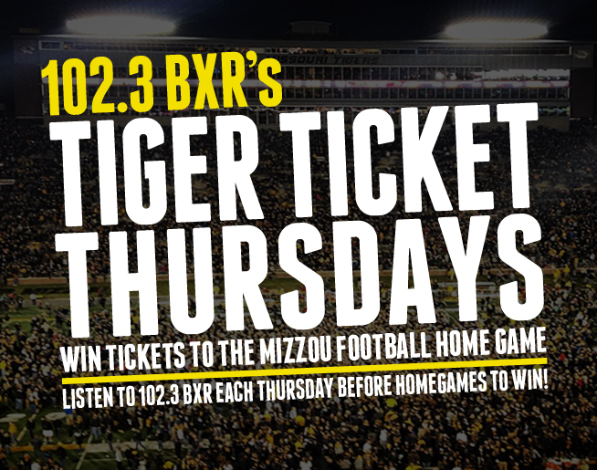 BXR's Tiger Ticket Thursdays!