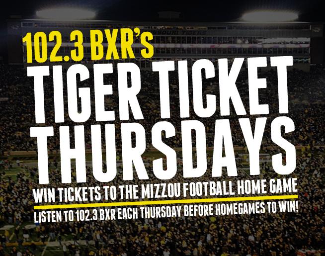 BXR's Tiger Ticket Thursdays!