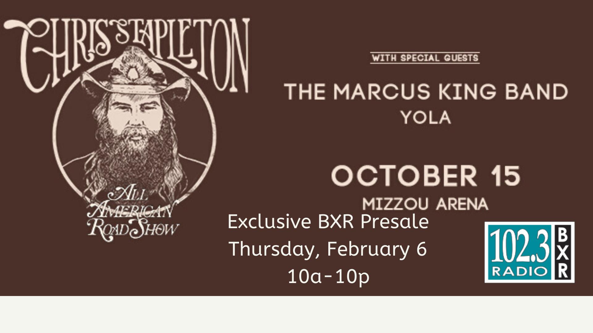 BXR Pre-Sale! Thursday, 2/6 only!