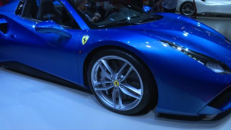 Customizing your own Ferrari