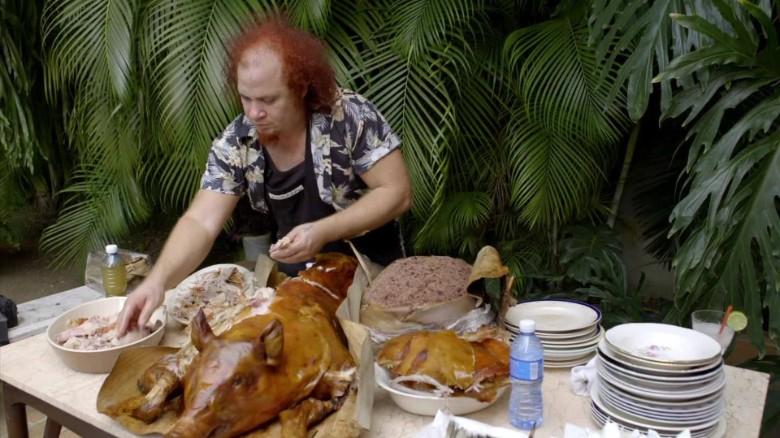 It's not a Cuban party without a pig roast
