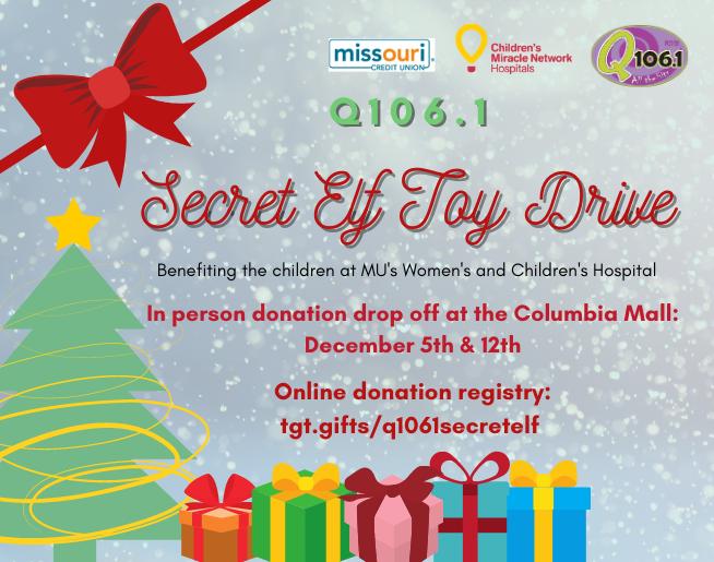 Q 106.1 Secret Elf Toy Drive