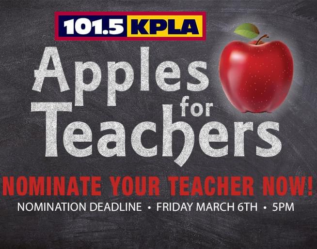 Apples for Teachers