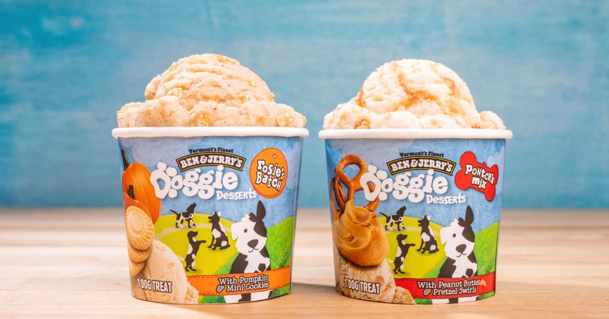 Ben & Jerry's Is Now Making Ice Cream for Dogs