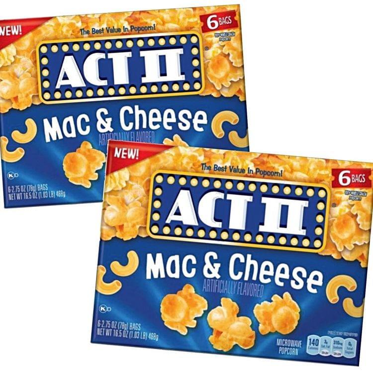 This Popcorn Taste Just Like Mac-N-Cheese!