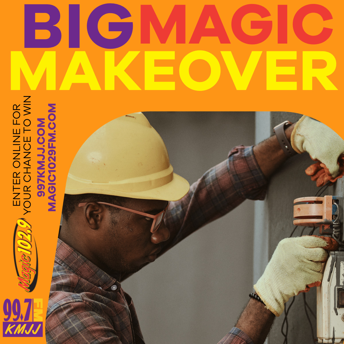 ENTER HERE TO WIN THE BIG MAGIC MAKEOVER