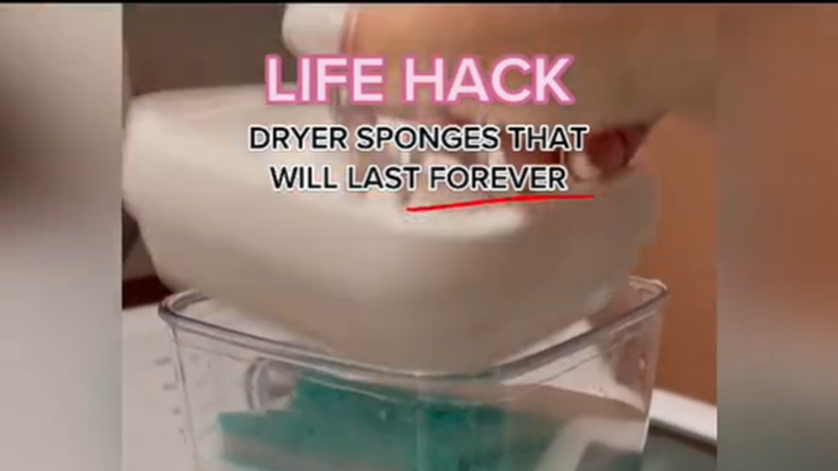 #LifeHacks:  Which Ones Have You Done?  Maybe Try This One To Replace Your Dryer Sheets!