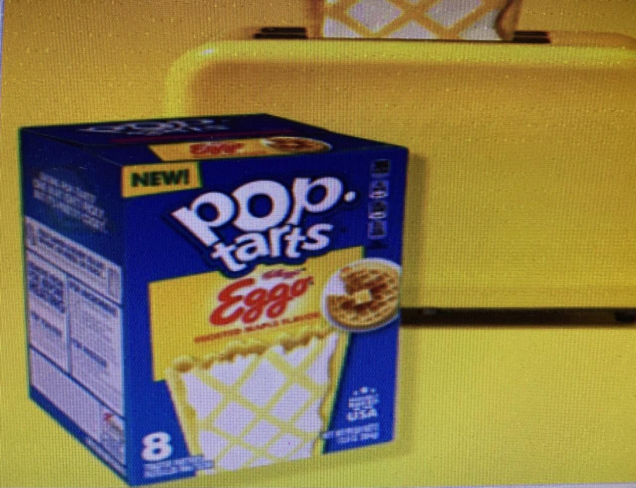 New Pop-Tarts Eggo Waffle