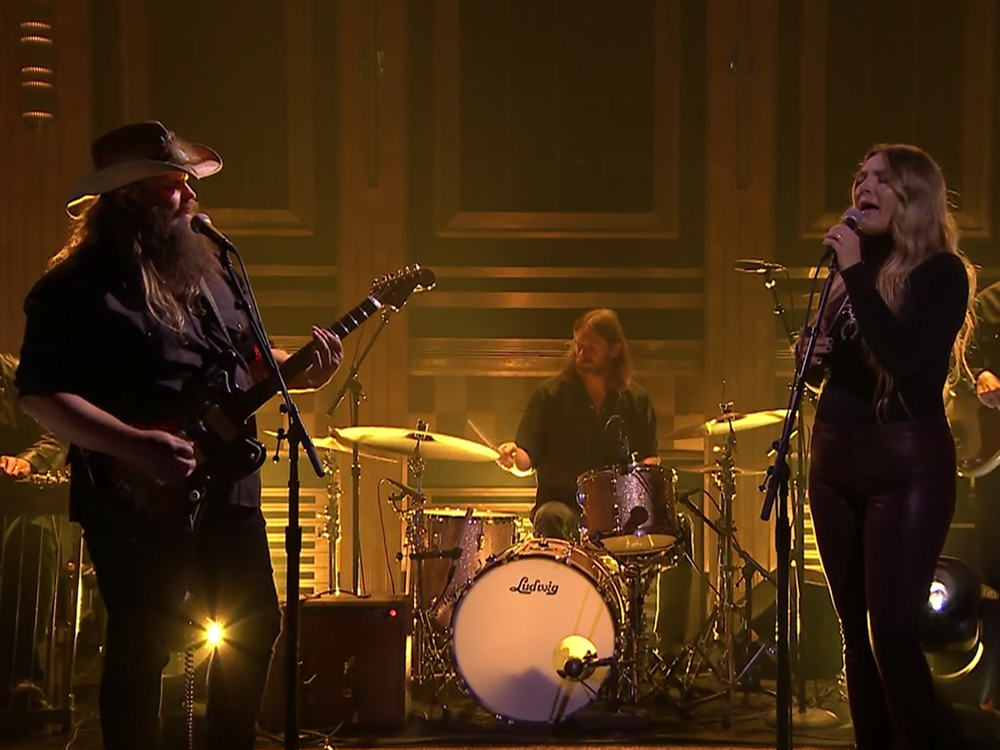 """Watch Morgane and Chris Stapleton's Chilling Performance of """"You Are My Sunshine"""" on """"Jimmy Fallon"""""""