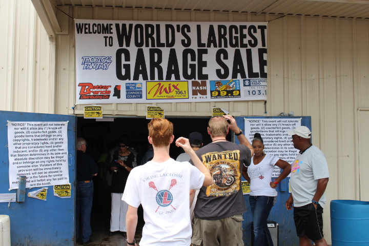 WORLD'S LARGEST GARAGE SALE-WHAT YOU MISSED