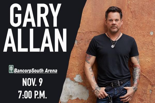 Gary Allan BCS Arena November 9th