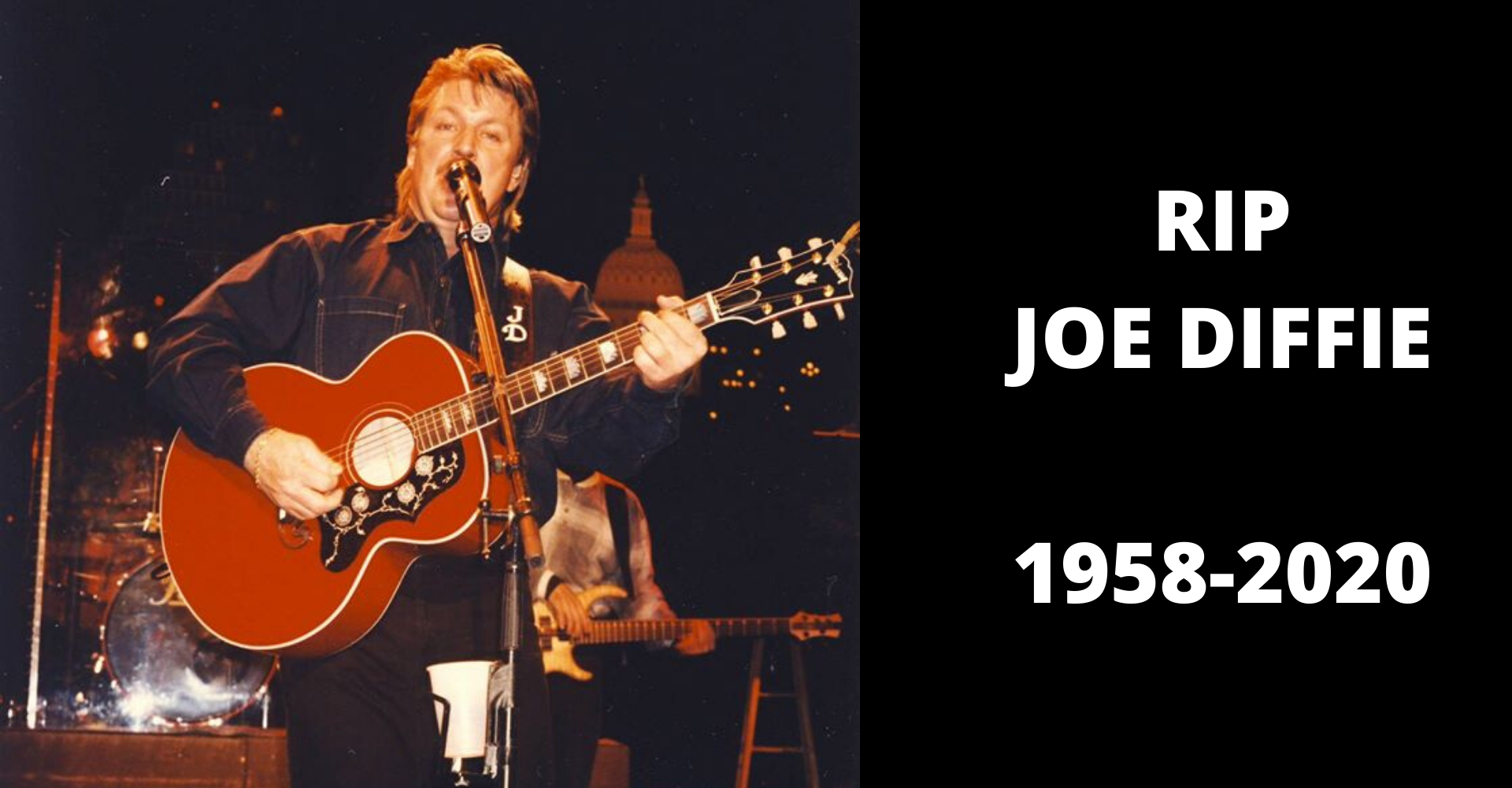 Country music's Joe Diffie has passed away from Coronavirus