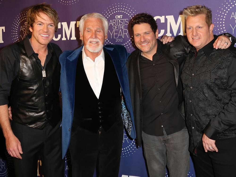 """Rascal Flatts Honors Kenny Rogers by Releasing New Cover of """"Through the Years"""" [Listen]"""