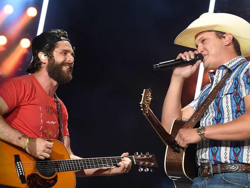 "Thomas Rhett Scores 15th No. 1 Single With ""Beer Can't Fix"" Featuring Jon Pardi"
