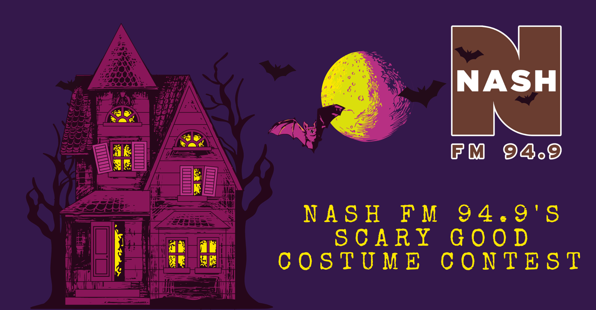 Nash 94.9 FM's Scary Good Costume Contest