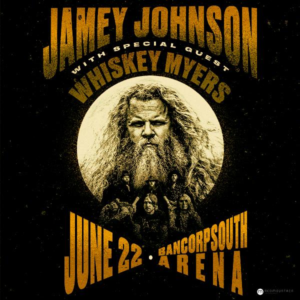 Jamey Johnson BCS Arena June 22nd