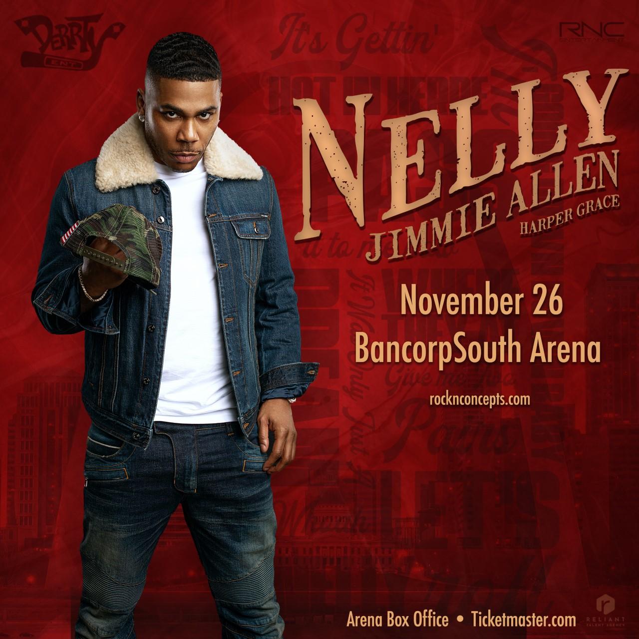 Nelly BCS Arena November 26th
