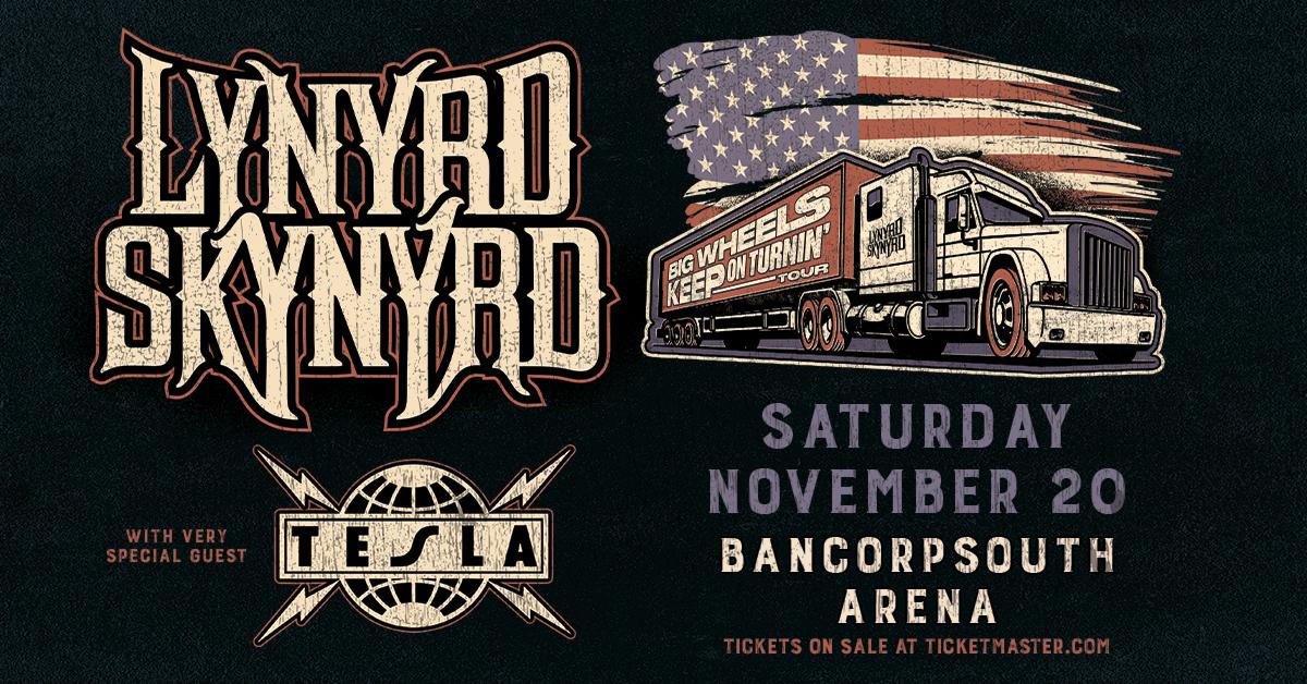 Lynyrd Skynyrd BCS Arena November 20th