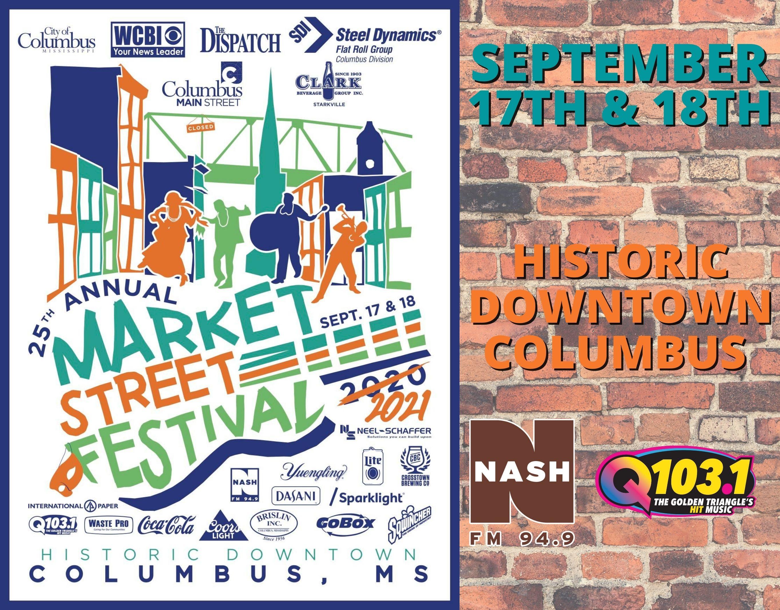 Market Street Festival-Sept 17 & 18