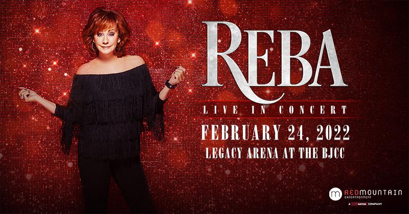 Reba Legacy Arena BJCC Feb 24