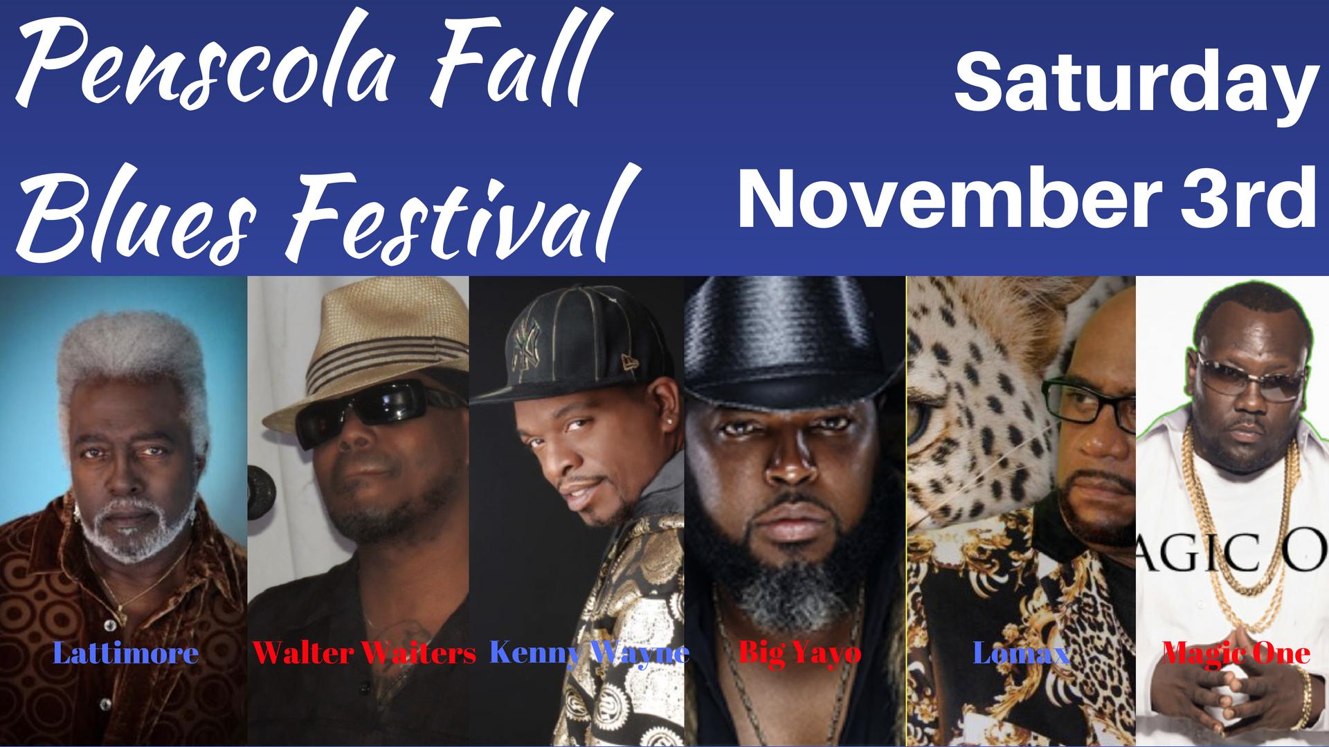 Beach N' Blues- Pensacola Fall Blues Festival on November 3rd WINNER ANNOUNCEMENT!