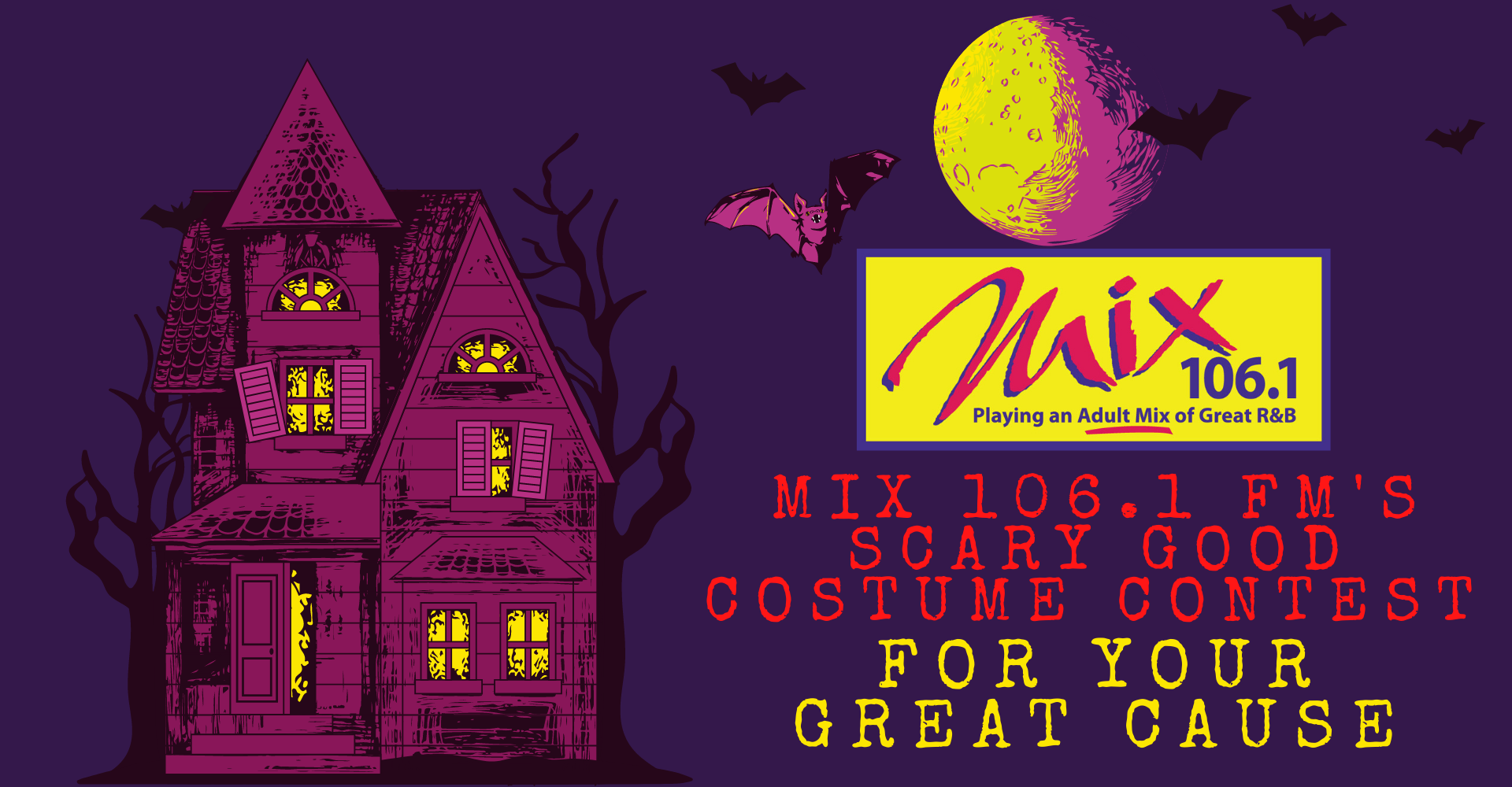 Mix 106.1 FM's Scary Good Costume Contest